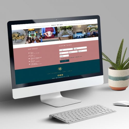 Harvest Home Avenel website design and build by nuvismedia, Melbourne