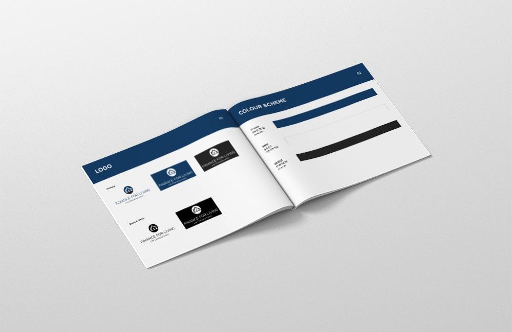 Melbourne Broker Finance For Living Branding Design