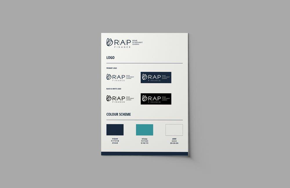 Mortgage Broker Logo Branding Graphic Design