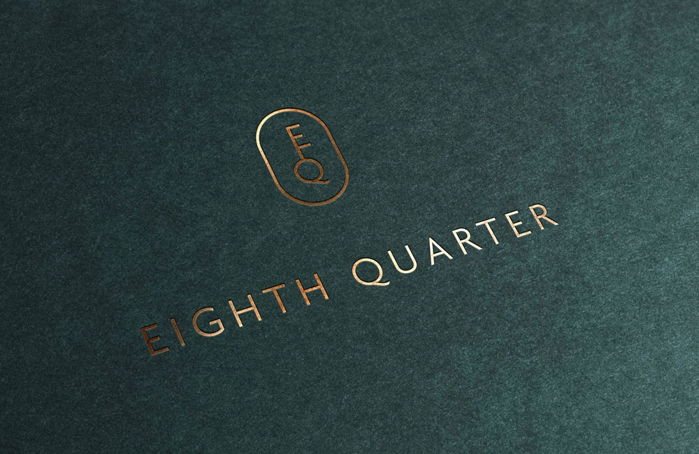 Eighth Quarter logo and icon design by nuvismedia, Melbourne