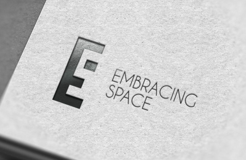 Embracing Space branding design by nuvismedia, Melbourne - logo design